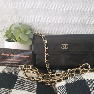 Authentic Classic Chanel CC Crossbody Wallet